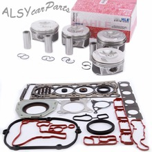 KEOGHS 82.51mm Engine Piston & Cylinder Head Gasket Oil Seal Repair Kit For Audi A4 Q5 VW Passat Jetta Skoda 2.0T 06H 107 065 AB