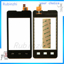 Black Color Touchscreen For Prestigio MultiPhone PAP3350 Touch Screen Front Glass Digitizer High Quality  Free Shipping