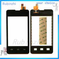 RUBINZHI Telefono Touchscreen Touch Panel Sensore Per Prestigio MultiPhone PAP3350 Touch Screen Digitizer Vetro Frontale con Nastro