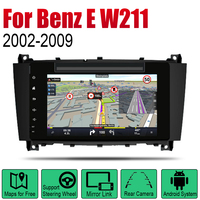 Auto DVD Player GPS Navigation For Mercedes Benz E Class W211 2002~2009 NTG Car Android Multimedia System Screen Radio Stereo