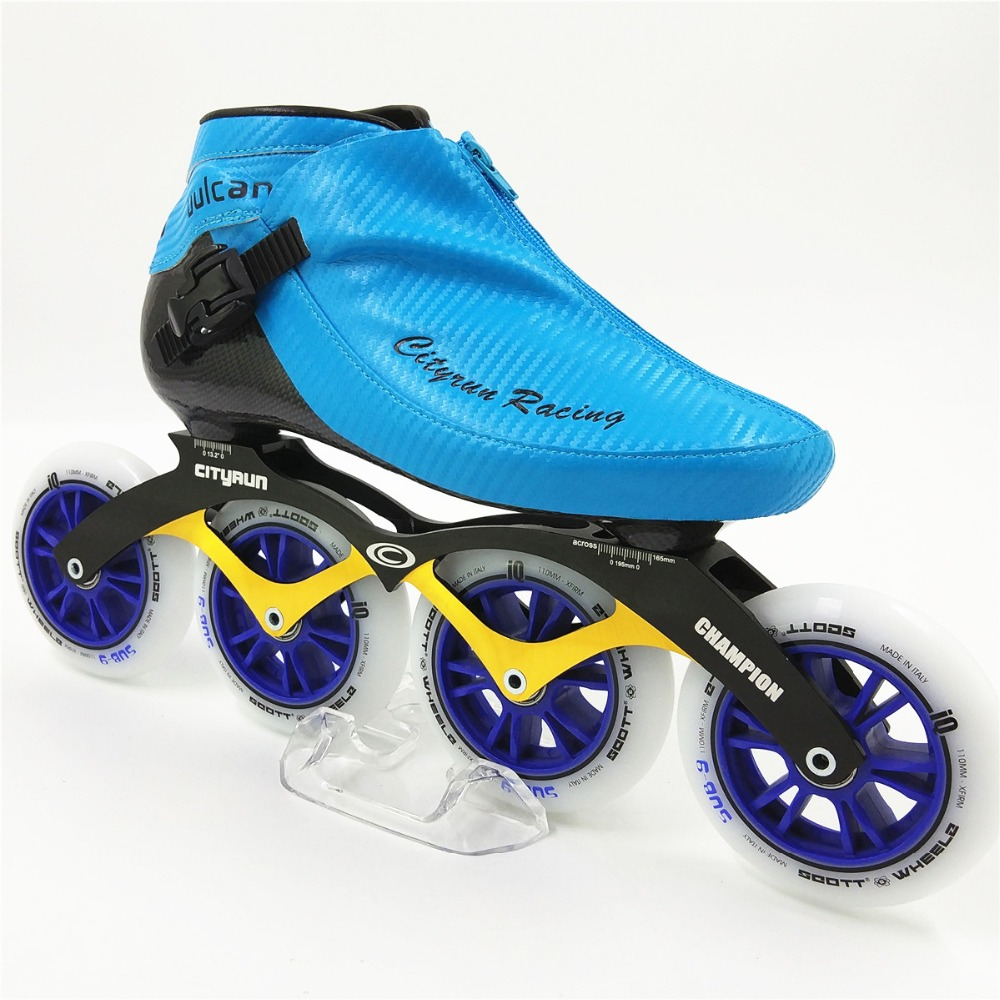 Professional Inline Racing Skating shoes NEW Arrival Men Women Inline Skates 4 Wheels 100mm 110mm Adults