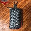 KUNBABY Топ сумка из натуральной кожи чехол для ключа автомобиля кошельки Модные Женские ключницы держатели Carteira для Aston Martin