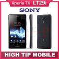 FREE Gift Original Unlocked LT29 LT29i Sony Xperia TX Mobile Phone 13MP Dual core Android 4.0 Smartphone warranty Refurbished