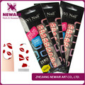 Fall Series Sex Product Nail Stickers Red Lips Pattern Really Nail Polish Strips Self-adhesive DIY Nail Art Set Free Shipping