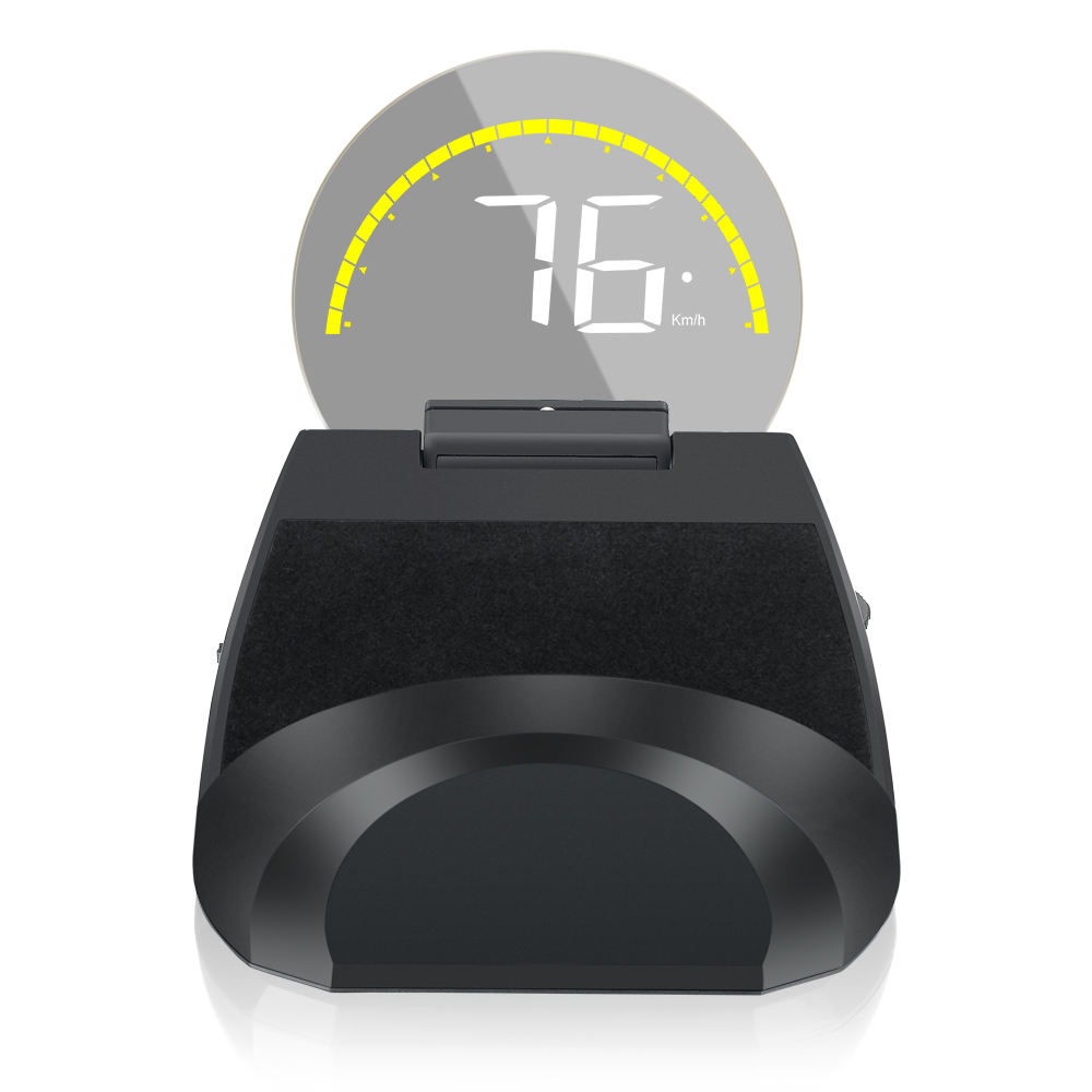 Car Speedometer HUD Head Up Display OBD2 Windshield Projector On-board Computer for Car Fuel Mileage & Water Temp Speed Warning цены