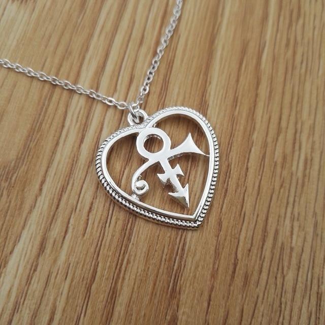 Heart Pendant Stylish Looking Prince Love Symbol Pendant Prince