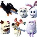LM brinquedos Novo Filme A Vida Secreta De Animais Brinquedos De Pelúcia Max Snowball Gidget Mel Chloe Amigo Animais Boneca Dos Desenhos Animados Brinquedos de Pelúcia presente