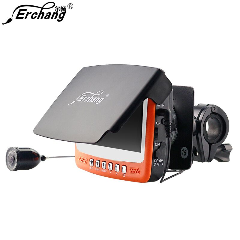 Visible Video Fish Finder Underwater Sea Video Fishfinder Fishing Camera IR Night Vision 4.3 inch Monitor Camera kit HD 1000TVL 30m underwater fish cameras finder sea real time live underwater ice video fishfinder fishing camera ir night vision 4 3 screen