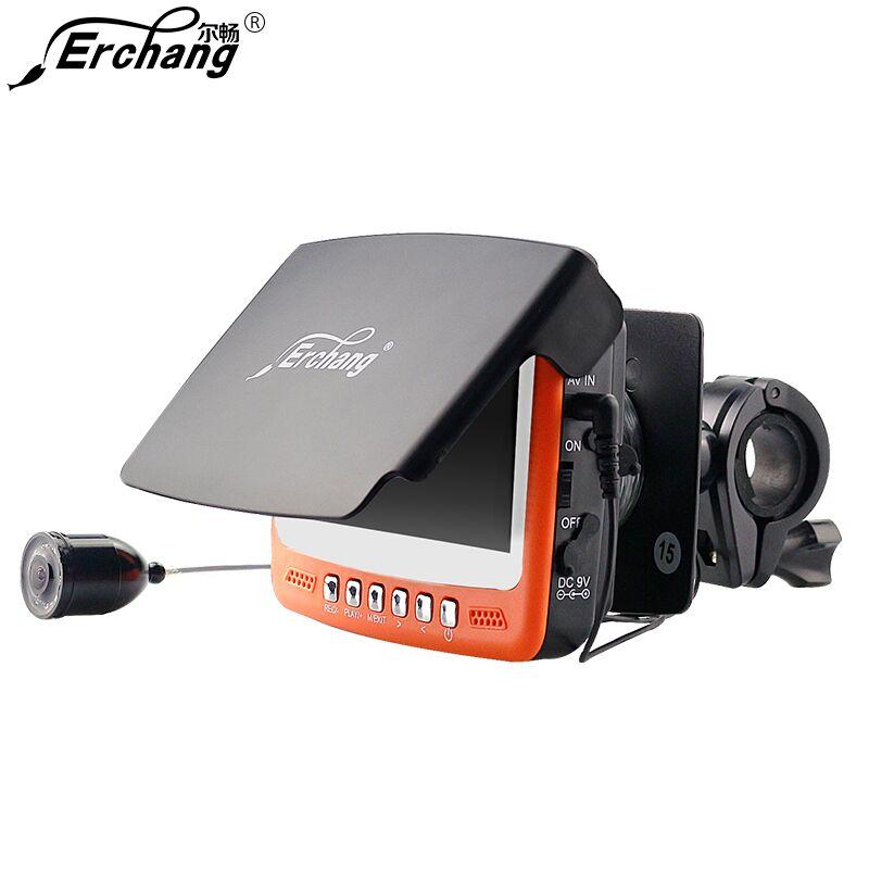 все цены на Visible Video Fish Finder Underwater Sea Video Fishfinder Fishing Camera IR Night Vision 4.3 inch Monitor Camera kit HD 1000TVL