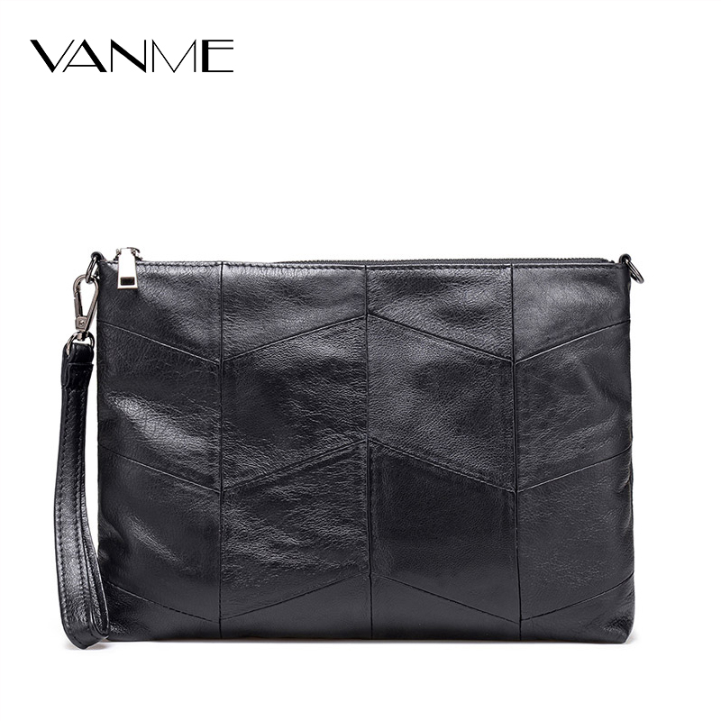 ФОТО 2017 Promotion Day Clutches Polyester Designer Women Genuine Leather Handbags Day Clutches Bag Brand Hot High Quality Shoulder