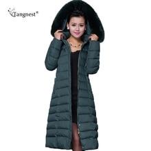 пуховик зимняя куртка женщины куртки женские куртка женская пальто женское пуховик зимний женский 2015 New Casual Plus Size XL-5XL Winter Jacket Coat Women Thick X-Long Down Parkas WWD122