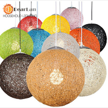 Modern Wicker Sepa Takraw Pendant Lamp Good Price Pendant Lamp With Cane Shades For dinning Room Sitting Room(DM-50)