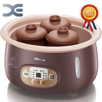 Electric Stoves 2.5L 1 Pot 4 Liner High Quality Slow Cooker 220V Mini Casserole Electric Cookers Crockpots Cooker