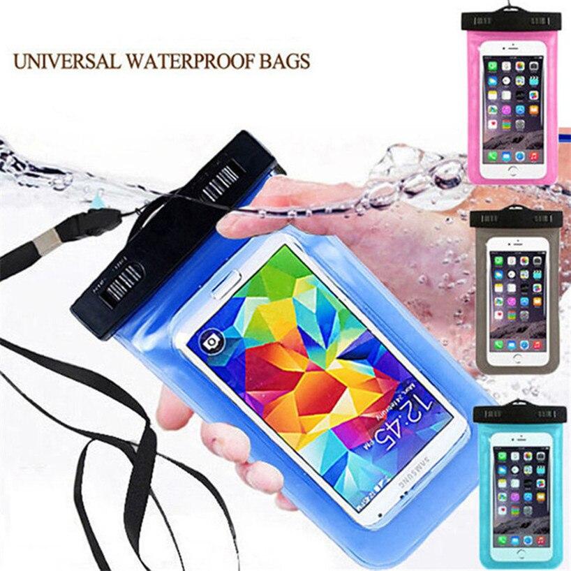 100% Wasserdicht versiegelt Tasche Telefon Fall Universal Für Lenovo K3 Hinweis K80...