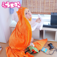 2016 High Quality Himouto Umaru Chan Cloak Anime Umaru ChanDoma Umaru Cosplay Costume Flannels Cloaks Blanket