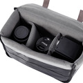 YOUTHINK New Portable Camera Insert Padded Bag Case for DSLR Folding Divider Partition Protective Case Bag Gray