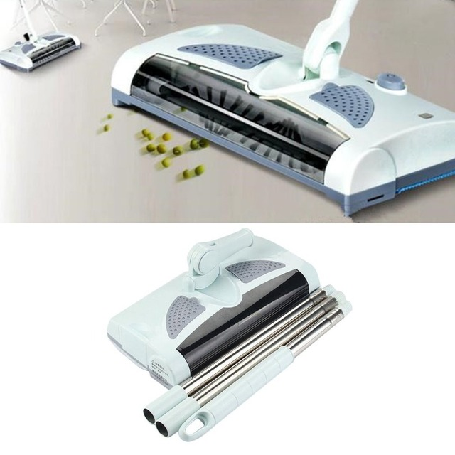 Ultra Low Noise Automatic Electric Sweeping Machine Wireless Hand Push Dustpan Vacuum Cleaner Machine Household