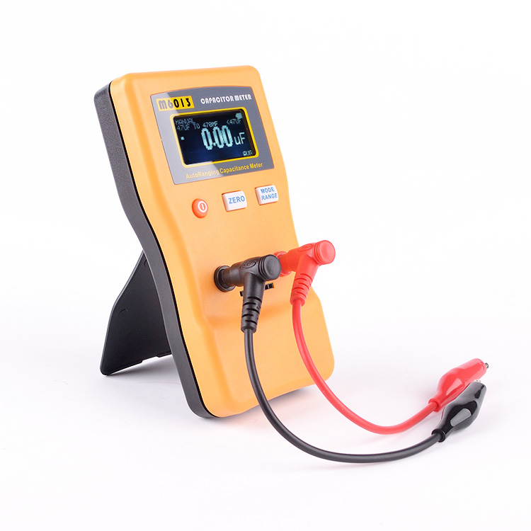 M6013 LCD High Precision Capacitor Meter Professional Measuring Capacitance High Resolution Resistance Capacitor Tester