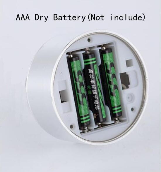 Led Batterie Lampe Schaufenster Zähler Oberfläche Montiert Lange Stange Mini Miniatur Schmuck Kann Bewegen Und Laternen lo4613 - 5