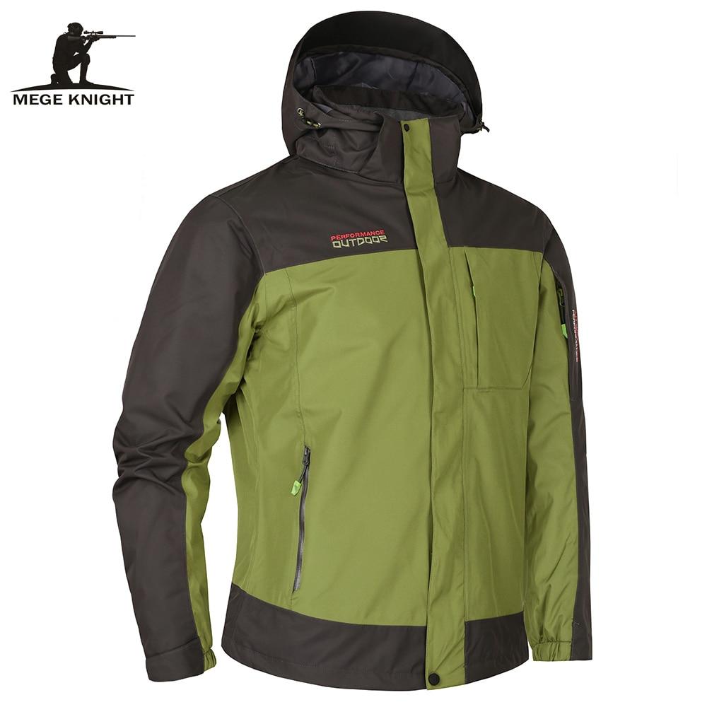 Mege العلامة التجارية الملابس الخريف الشتاء اثنين pcs الرجال سترات عالية الجودة الذكور سترة عالية الجودة المعطف واق دافئ سترة windcheater-في جواكت من ملابس الرجال على  مجموعة 1