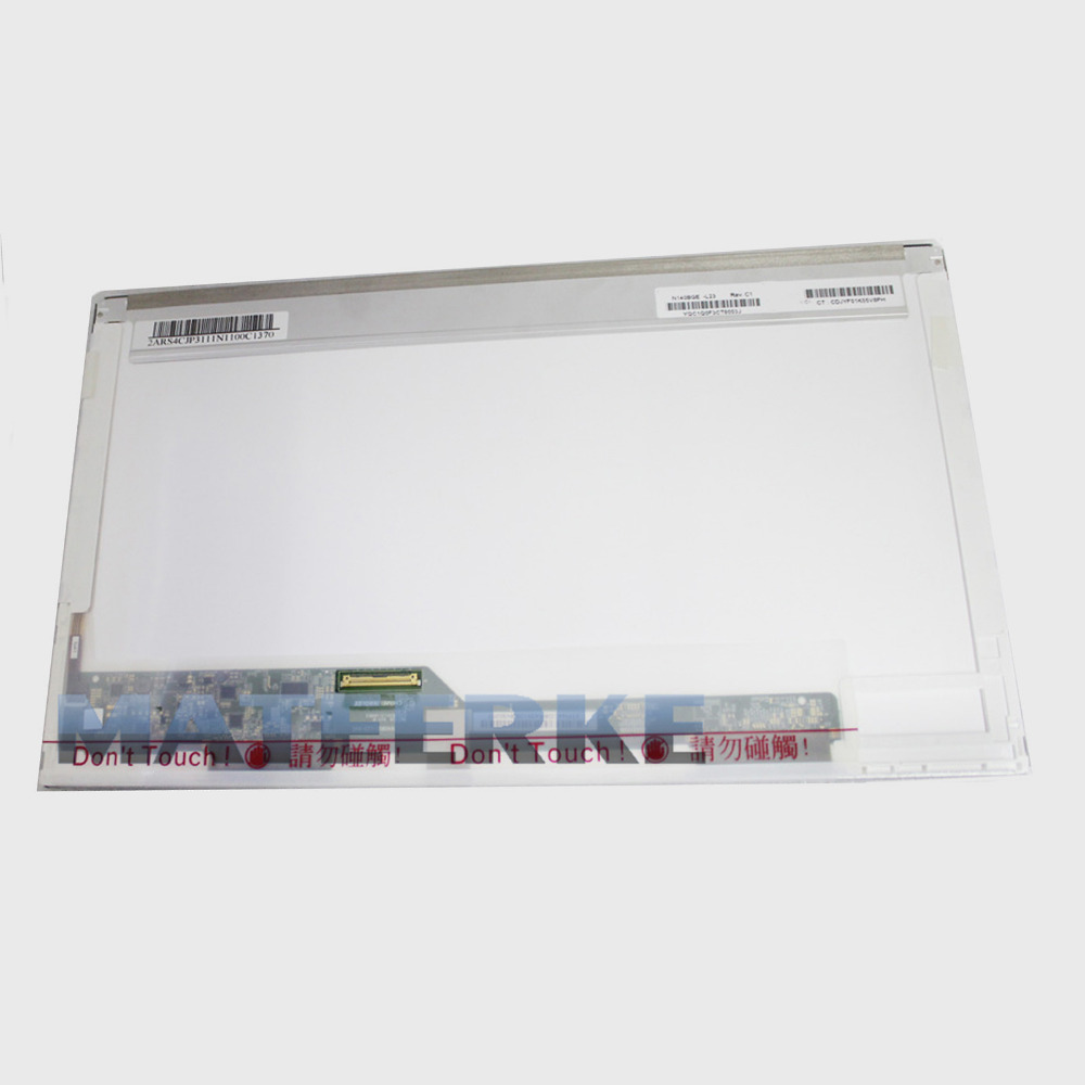 Laptop 14.0 Replacement Screen BT140GW01 LP140WH4 N140BGE-L11 HSD140PHW1 HB140WX1 N140B6-L02 /L01 LTN140AT01 02 07 16 24 26 tested 14 0 laptop led lcd screen hsd140phw1 ht140wxb hb140wx1 n140b6 l02 l01 l08 lp140wh4 n140bge l11 12 21 22 23 bt140gw01
