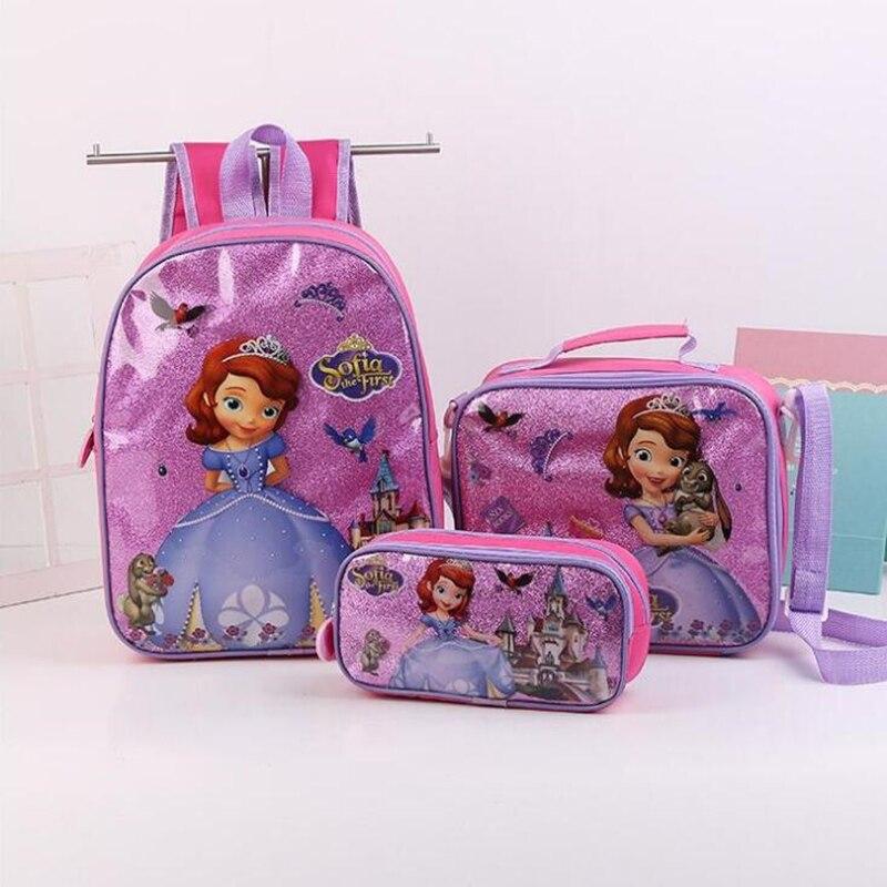 Escola dos Miúdos para Meninas Mochilas Crianças Bonitos Projeto Escolares