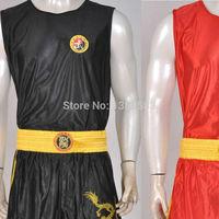 New Martial Arts Kung Fu Tai Chi Sanda Suit Competition Boxing Muay Thai Shorts Clothing Taekwondo