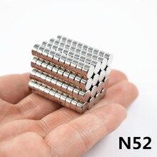 Неодимовый магнит 6x3 редкоземельный маленький сильный Круглый постоянный 50 шт. 6*3 мм Электромагнит на холодильник NdFeB никель магнитный диск