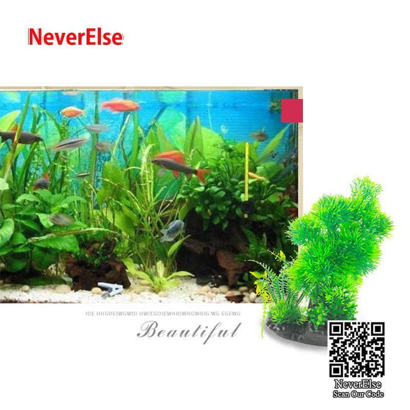 ประดิษฐ์ตกแต่งถังปลา Aquarium จำลองพืชน้ำดอกไม้ 15 รูปแบบ 20 ซม.ความสูงใต้น้ำ Landscape Bonsai Tree
