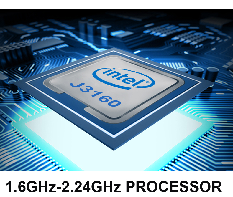 15.6 inch 8G RAM 64/128/256/512/1TB SSD Laptop With Numeric Keypad Notebook Computer Intel J3160