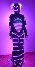 LED Robot / iluminated / Luminous / Glowing LED Robot suits / Light up dance costume