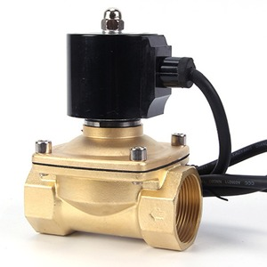 Image 1 - 220VAC 24VDC עמיד למים IP דירוג 68 מזרקה מתחת למים בדרך כלל סגור סולנואיד שסתום, DN15/DN20/DN25/DN32/DN40/DN50
