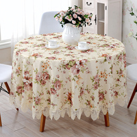 European Style Lace Tablecloth Lace Tablecloth Hollow Garden Table Cloth Lace Fabric Table Cloth Cover Towels
