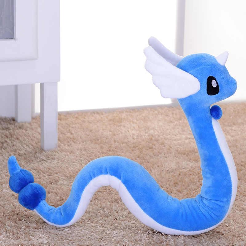 Dragão Anime 100 centímetros Grande Dragonair Plush toy estrutura Da Coluna Se Sentir livre para dobrar macio bonito Gênio boneca Grande aniversário presente