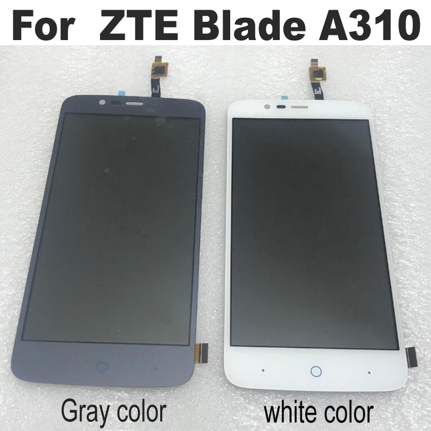 Original für ZTE Klinge <font><b>A310</b></font>/A462 <font><b>LCD</b></font> Display + Touch Screen Digitizer Montage sensor ersatz teile image