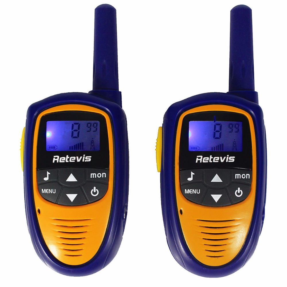 2pcs Kids Walkie Talkie Radio Retevis RT31 8CH 0 5W UHF 446MHz EU Frequency Portable 2
