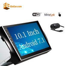 Car Stereo for Nissan Android 7.1 2Din Car Radio 10.1 Inch Capacitive Touchscreen Support GPS Navigation WIFI Free Backup Camera