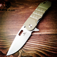 200mm 100% D2 Blade Ball Bearing Knives Tactical Folding Knife G10 Handle Outdoor Knives Camping Survival Pocket Knife Tools EDC ch 3001 flipper tactical ball bearing folding knife d2 blade g10 handle outdoor survival camping hunting pocket knives edc tools