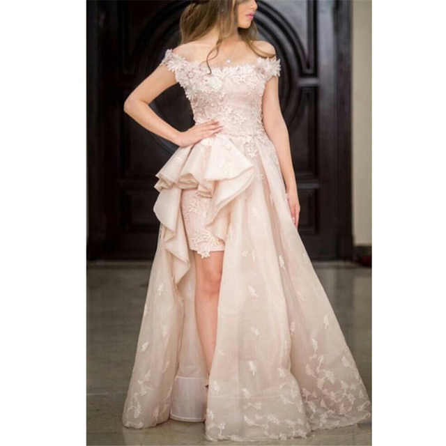 Blush Prom Dresses White Pictures On the Boat