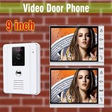 2 9 モニター インチの大画面、有線ビデオドア電話インターホンドアベルシステムビデオドアホン視覚インターホンビデオスピーカーフォン