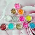 1 jar hexagon sequin glitter powder sparkle dust for acrylic UV nail, fine nail flake paillettes glitter pigment decoration