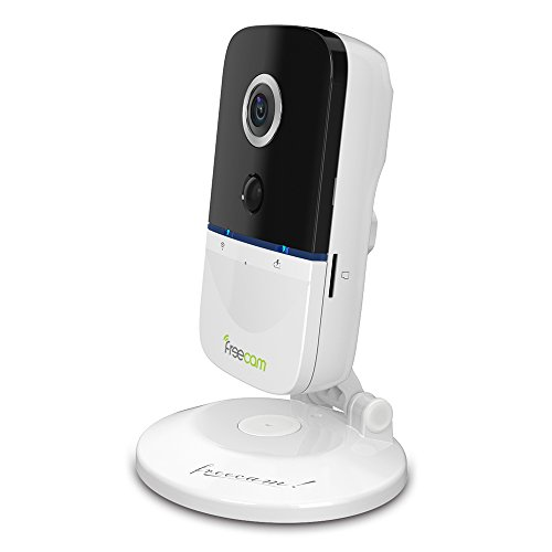 Freecam Baby Monitor with HD camera -Surveillance Wireless Wifi Battery Camera with PIR P2P Cloud Service and Support  Max32G SD bim and the cloud