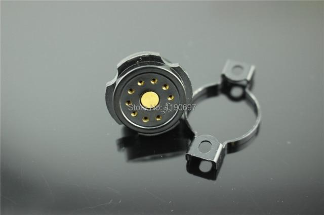 2 CÁI 9Pin Ống Ổ Cắm Bakelite ổ cắm CMC Socket Cho 6DJ8 EL84 6922 6BM8 6BQ5/EL84 6CG7/6FQ7 ống Vận Chuyển Miễn Phí