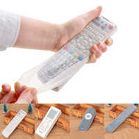 Home Silicone TV Remote Control Covers Case Waterproof Dust Protective Cover Air Condition Dust Protector Storage Bag Organizer