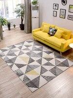 Коврик с наполнителем Nordic геометрический гостиная журнальный столик спальня ковры полная кровать одеяло диван подкладка для кофейного сто