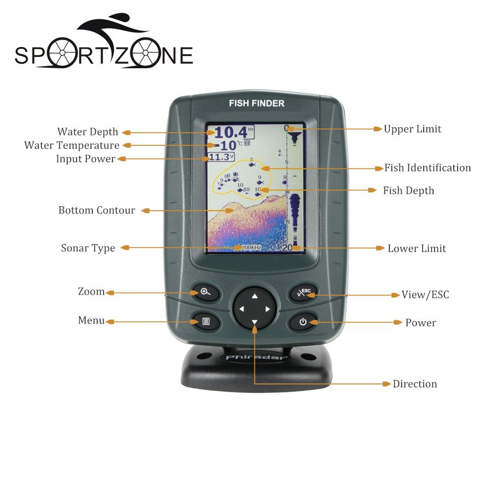 Depth finders for boats reviews for Fish finder reviews