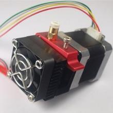 Оптовая 3D принтер Непосредственно вблизи экструдер полный комплект работа совместима с для Printrbot Reprap MK8 экструзионной 1.75 мм нити