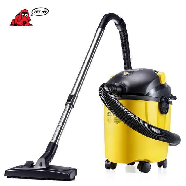 PUPPYOO Wet&Dry Aspirator High Suction Industrial Dust Collector Low Energy Consumption Vacuum Cleaner for Home&Commercial WP808