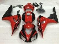 Обтекатели для Honda Cbr1000 RR 2007 обтекателя Наборы CBR1000 RR 07 2006 2007 красные, черные мотоциклетные обтекателя Fireblade 2007