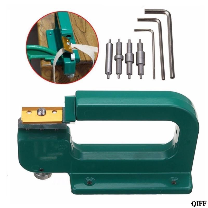Drop Ship&Wholesale Leather Craft Splitter Skiver Paring Peeling Machine Edge Cut Skiving Shovel DIY APR29